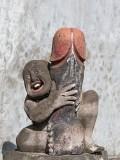 Erotic Sculpture In Bali, Indonesia